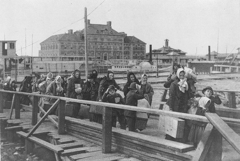 Ellis Island Au  Siecle