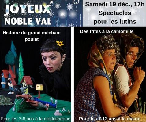 spectacles Joyeux Noble Val